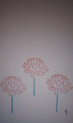 *flowerはんこ**